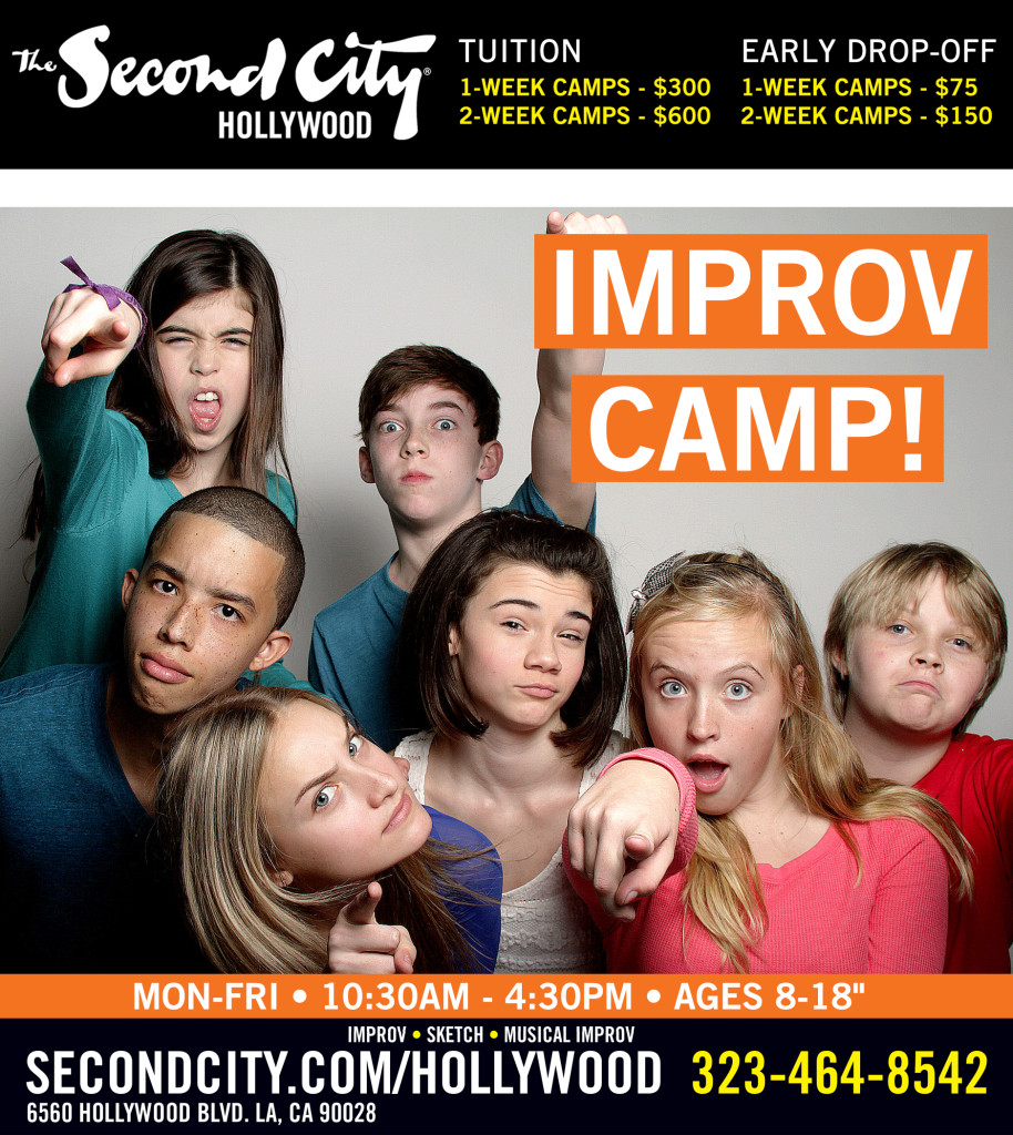 Second City Improv Camp