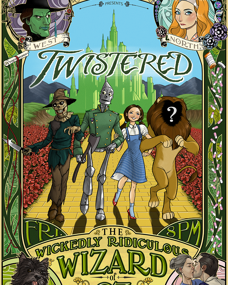 Twistered - The Wizard of Oz