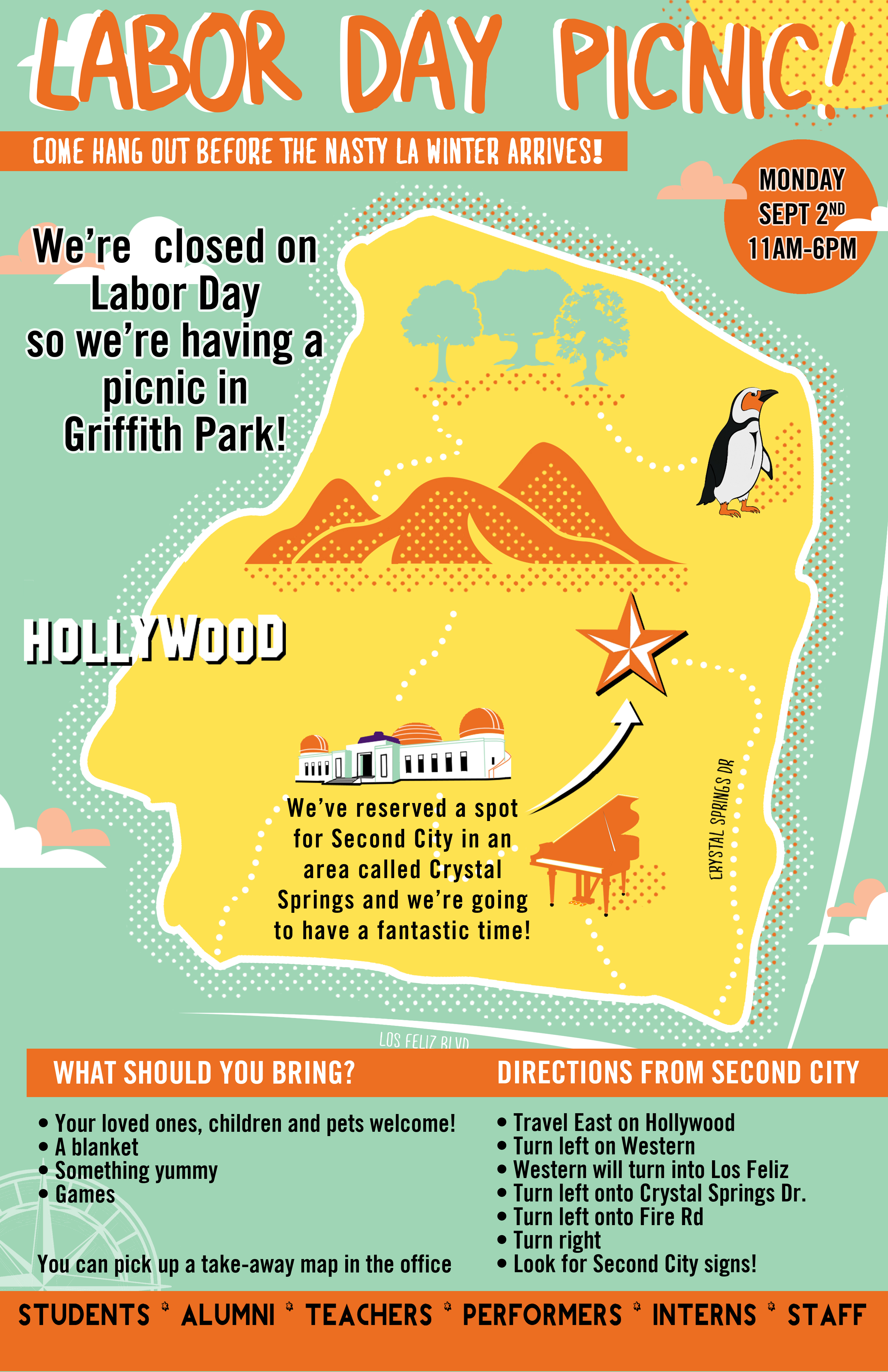 Second City Labor Day Poster